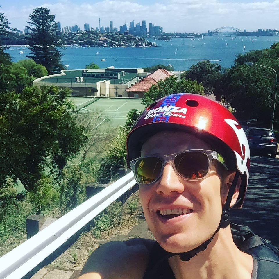 Aus-bike_overlook Three Secrets behind Integrating Training into Solo Travel